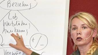 Cora Burgdorfer sprach über Ehekrisen.
