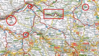 Die mysteriösen Aargau-Reisen vor dem Tod auf der Aarebrücke