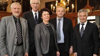 Regierungsrat Solothurn fährt zum traditionellen Mittagessen nach Langendorf