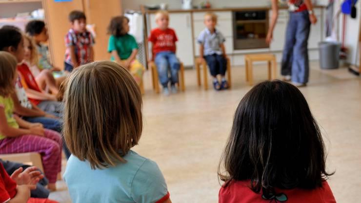 Für BDP-Grossrätin Maya Bally Frehner ist die Mundart-Initiative ein «Maulkorb für die qualifizierten Lehrpersonen an Kindergärten», einen solchen wolle man auf keinen Fall. (Symbolbild)