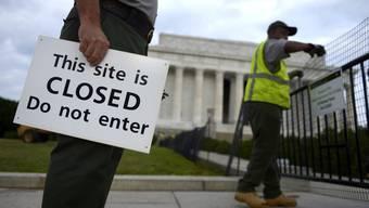 Geschlossene Museen und öffentliche Posten: Die USA steht still