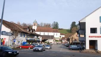 Ein Teil des geplanten Verkehrskonzeptes in Kaisten betrifft auch die Mitteldorf- und Poststrasse. sh