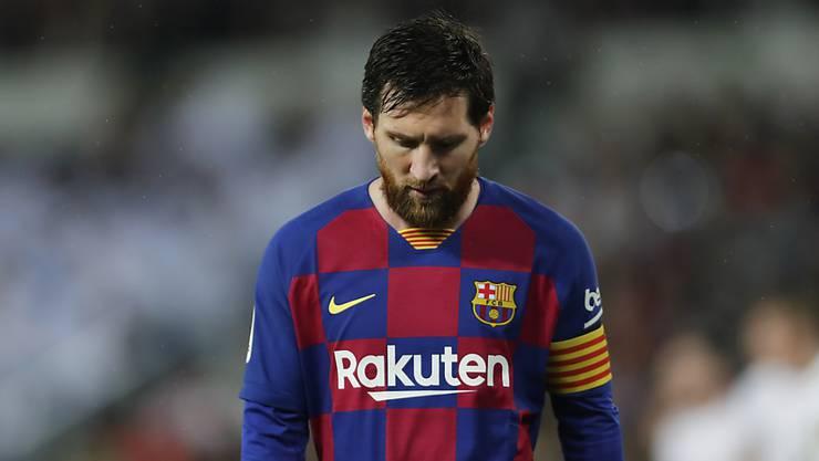 Lionel Messi erhält weniger Lohn