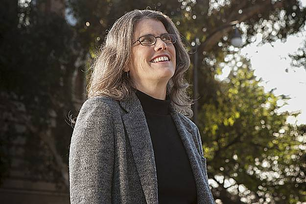 Andrea Ghez, Professorin für Physik und Astronomie, im Februar 2017 an der UCLA in Kalifornien.