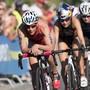 Alle Triathlon-Aktivitäten (im Bild Nicola Spirig im Vordergrund am letztjährigen Grand Final der WM-Serie in Lausanne) des Weltverbandes ITU sind ebenso bis Ende April gestrichen wie die Ironman-Events