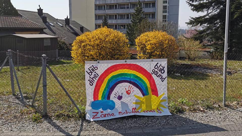 Regenbogen malen - Hoffnung teilen