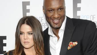 Owohl schon seit längerem getrennt, steht Khloé Kardashian ihrem erkrankten Noch-Ehemann Lamar Odom zur Seite (Archiv).