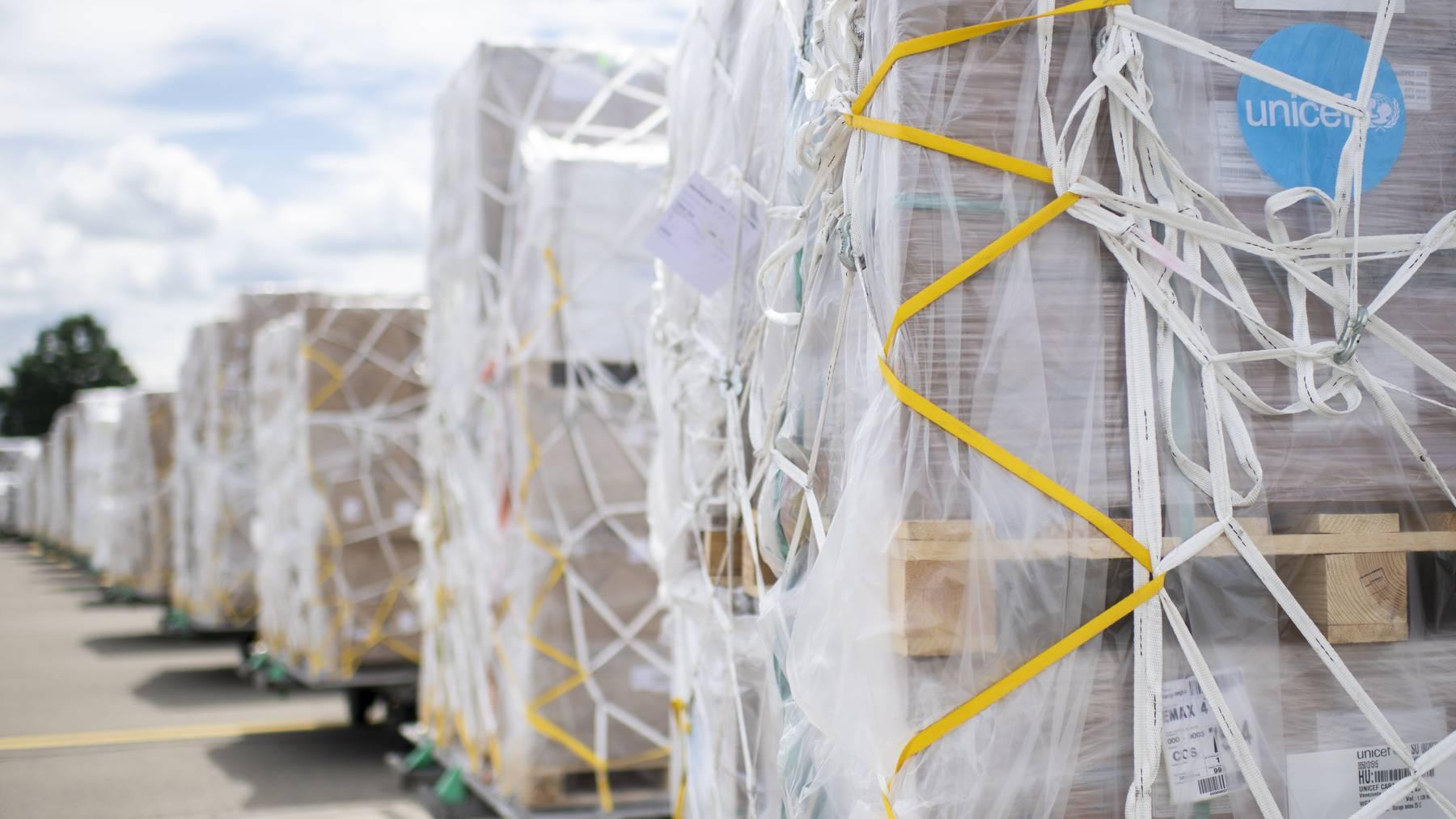 Die Hilfsgüter sollen über einer Million Menschen in Venezuela zugute kommen.
