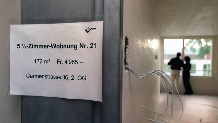 Die Basler Regierung ist für die Initiative «Ja zu bezahlbaren Neumieten». (Symbolbild)