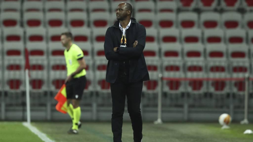 In Nizza wächst der Druck auf Patrick Vieira