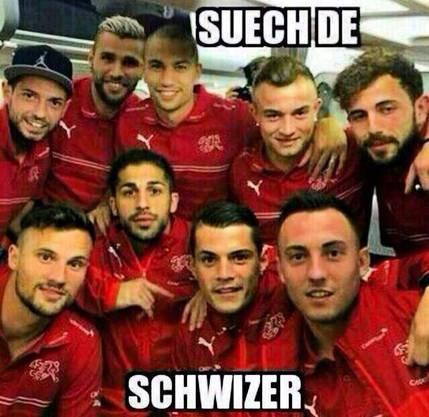 Wo ist der Schweizer? Oder sind es nicht alle Schweizer?