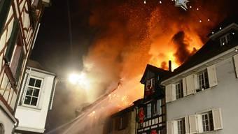 Der Grossbrand in Steckborn zerstörte im Dezember 2015 sechs Häuser. Ein Ehepaar steht deswegen in Frauenfeld vor Gericht.