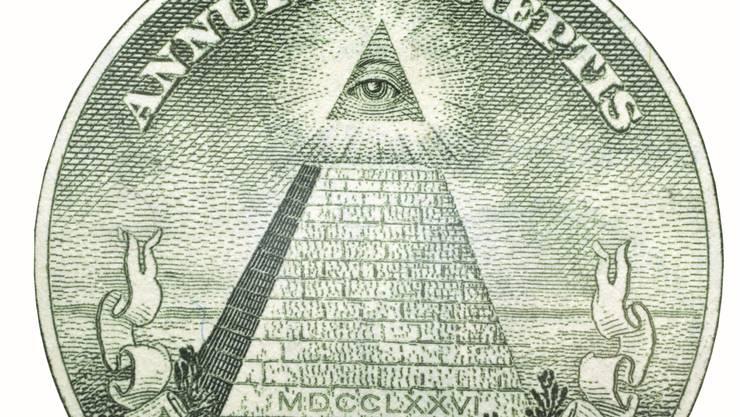 Vergils «Eine neue Ordnung der Zeitalter» steht auf der 1-Dollar-Note. Ein Wunsch für jeden Verschwörungstheoretiker.