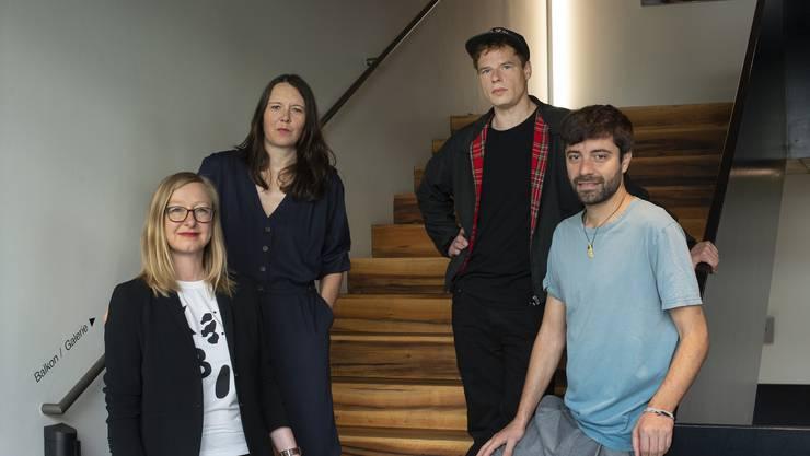 Anja Dirks, Inga Schonlau, Jörg Pohl und Antú Romero Nunes.