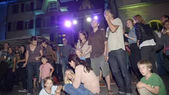 Damals hiess die Veranstaltung noch Sommernachtsfest: die Feier am Landhausquai von 2012. (Archiv)