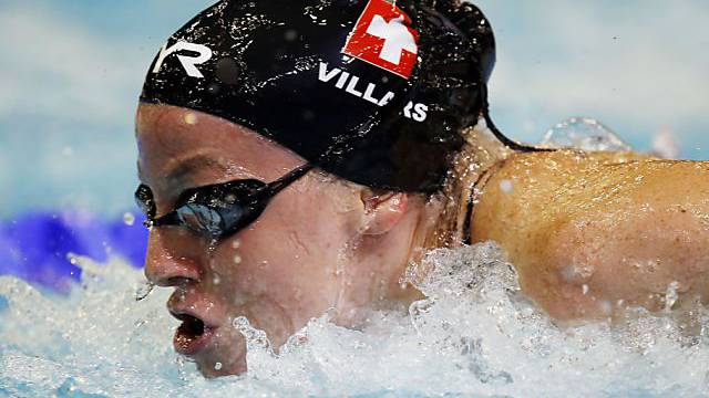 Danielle Villars überzeugte über 100 m Delfin