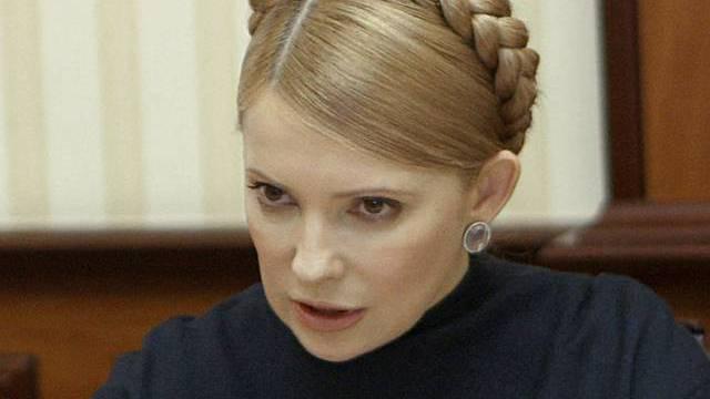 Timoschenko zieht ihre Beschwerde zurück (Archiv)