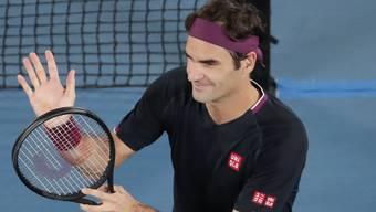 Federer steht in der 3. Runde.