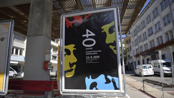 Fürs Jubiläumsfest wurde eigens ein Plakat entworfen.