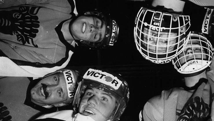 Die goldenen 80er-Jahre: Das ganze Jahrzehnt lang hielt sich der EHC Urdorf in der 1. Liga.