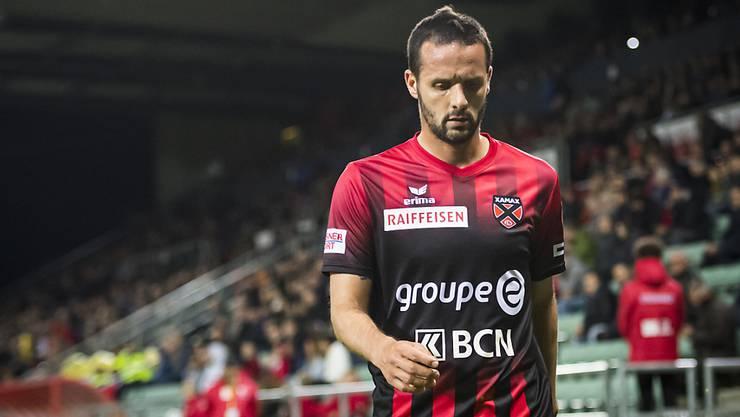 Gang in die Barrage ist definitiv: Xamax-Goalgetter Raphaël Nuzzolo