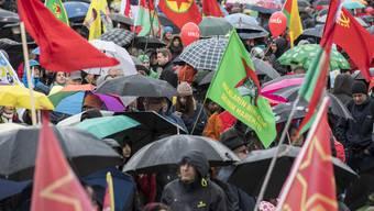 1.Mai Kundgebung in Zürich