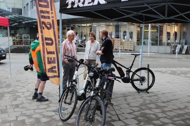 Die neusten Bikes kennenlernen