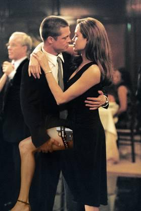 Bei den Dreharbeiten zu «Mrs. und Ms. Smith» lernten sich die beiden Hollywoodstars kennen.