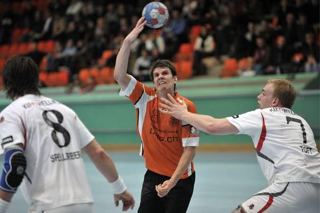 Vor bald elf Jahren, im Februar 2009, spielte Andy Schmid noch für den ZMC Amicitia in der Zürcher Saalsporthalle.
