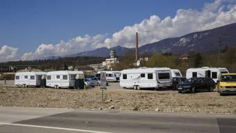 Ausländische Fahrende haben sich in diesem Sommer und Herbst auf dem Attisholz-Areal niedergelassen.