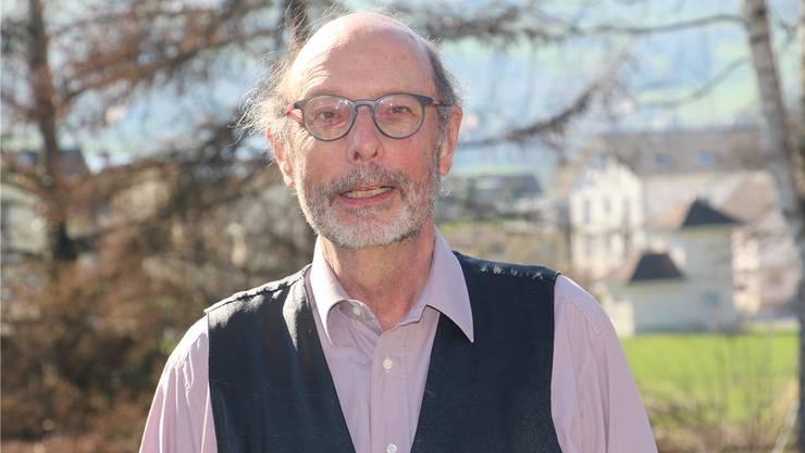 Stephan Marti, Präsident des Natur- und Vogelschutzvereins Rued. WPO