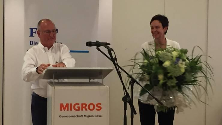 Paul Hofer und Monika Gschwind.