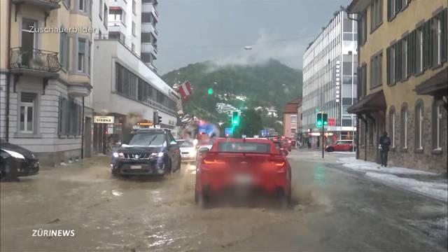 Zürcher Unterland erlebt schlimmstes Gewitter bisher
