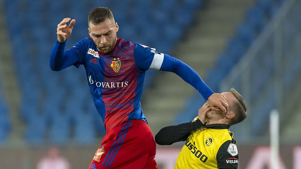 Gegen Meister YB wehrte sich der FC Basel mit seinem neuen Captain Pajtim Kasami mit Füssen - wenn nötig aber auch mit Händen