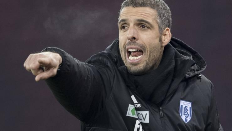 Fabio Celestini steckt seine Energie von jetzt an in den FC Lugano