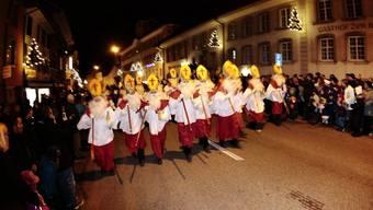 Traditionelles Samichlausjagen in Balsthal. Das wird es in diesem Jahr nicht geben.