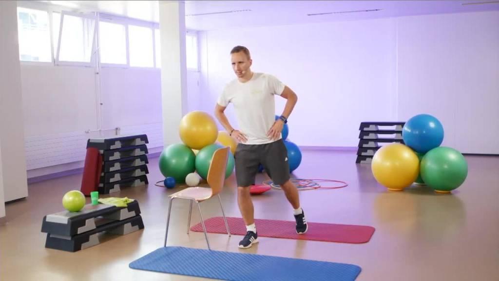 «Gymnastik im Wohnzimmer» vom 15. September 2021