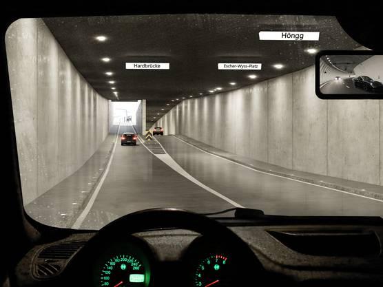 Der Verkehr soll zukünftig unterirdisch rollen.