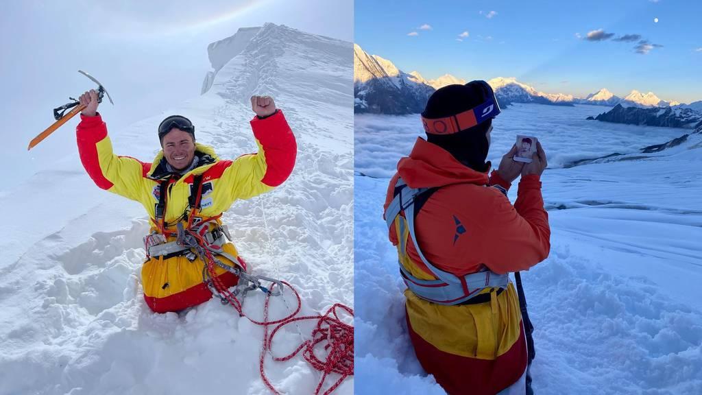 Bergsteiger erklimmt Achttausender – ohne Beine