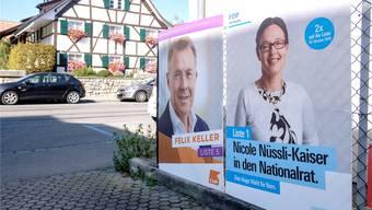 In Allschwil kandidiert viel lokale Prominenz für die Nationalratswahlen vom 20. Oktober. Bild: Kenneth Nars (17. September 2019)