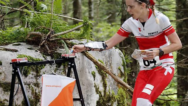 Sara Lüscher legte als Startläuferin den Grundstein zum WM-Gold.