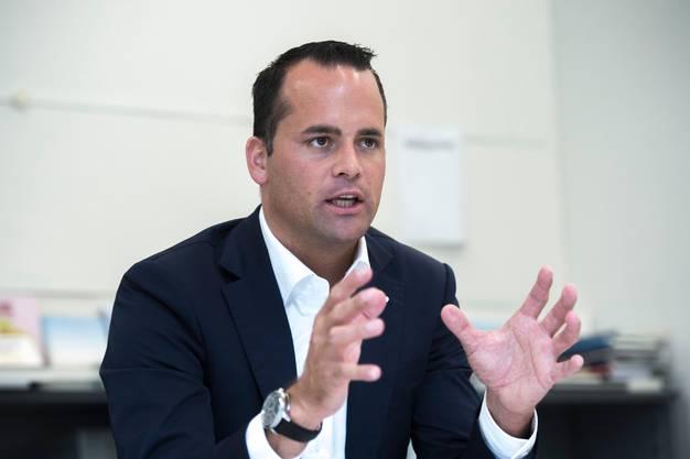 FDP Ständerat Damian Müller.