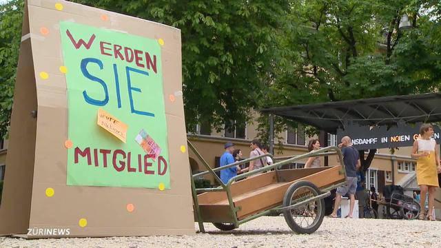 Widerstand gegen SBB-Wohnprojekt