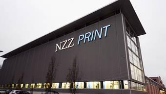 NZZ-Druckerei mit Standort in Schlieren.