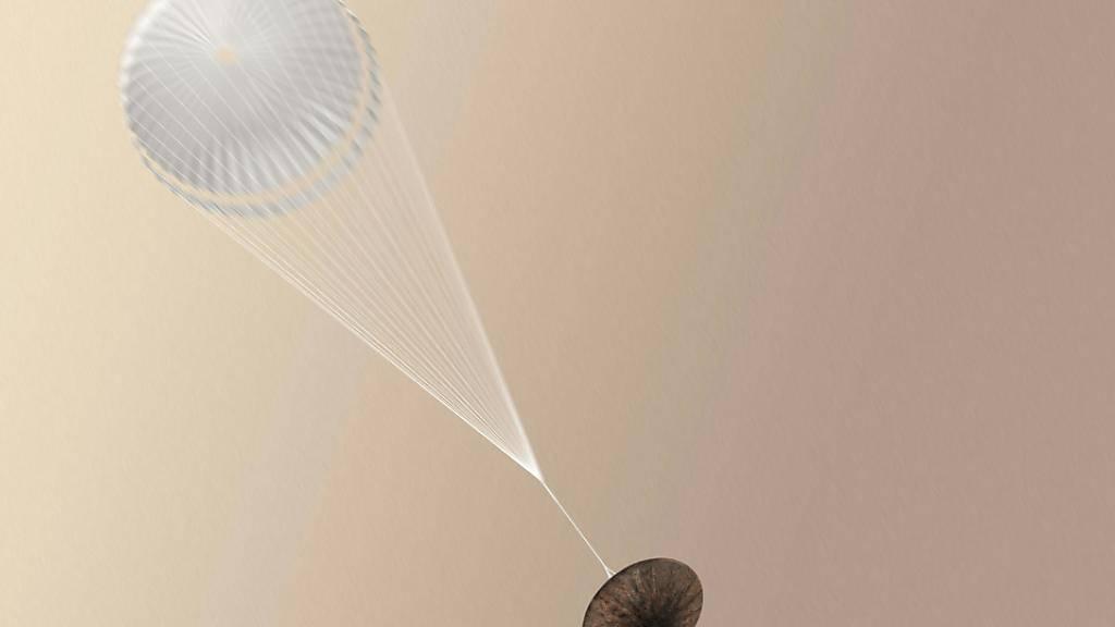 Die Raumsonde Schiaparelli hat den Aufprall auf dem Mars nicht überlebt. (Archivbild)