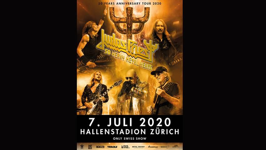 Judas Priest - Heavy Metal-Legenden in Zürich