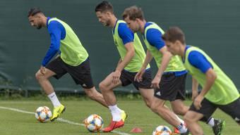 Trainingsauftakt FC Basel