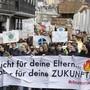 Die Schülerproteste für einen vermehrten Klimaschutz verleihen der Forderung nach einem tieferen Stimmrechtsalter Auftrieb. (Archivaufnahme)