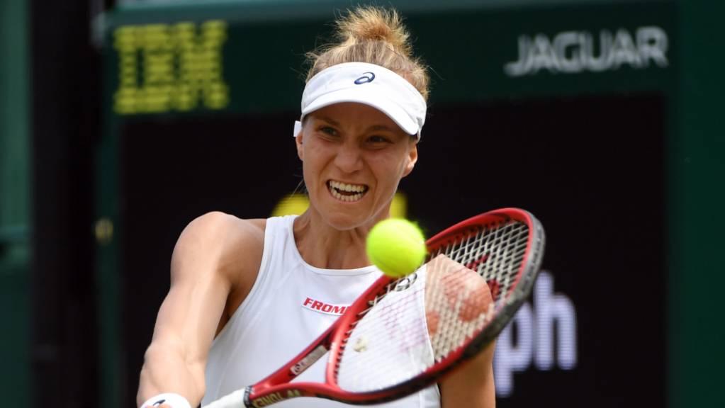 Viktorija Golubic erreichte in Guangzhou die Viertelfinals.