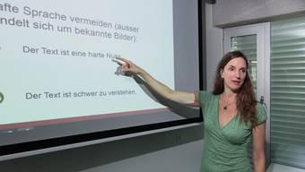 Cornelia Kabus arbeitet im Wohnwerk Basel.